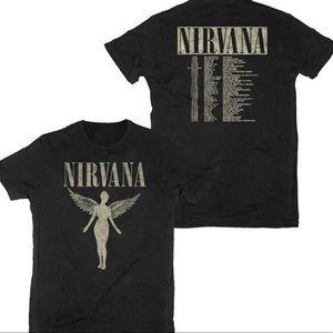 Nirvana   1993 Tour Tee   S (Men's)